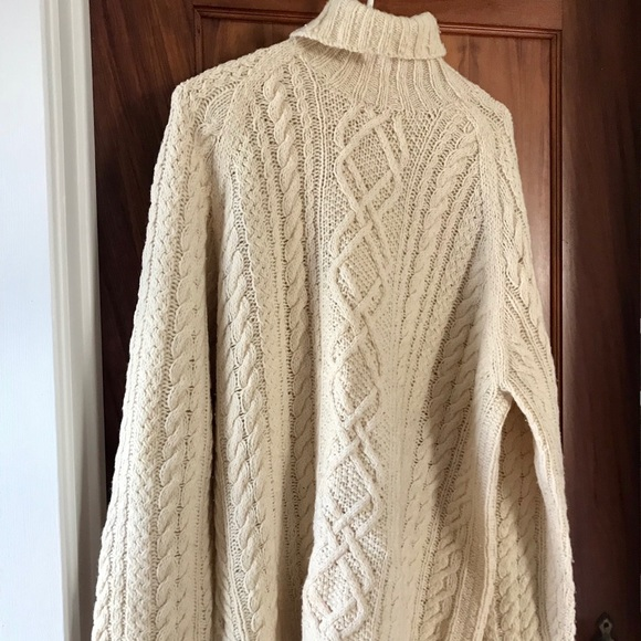 J Crew Sweaters J Crew Mens Fisherman Turtleneck Sweater Poshmark